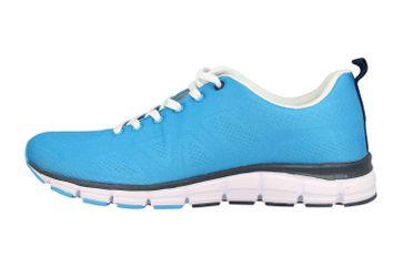 Boras SP Fashion Sports Sneaker Basic Sneaker in Übergrößen Blau 5203-1559 große Herrenschuhe – Bild 1