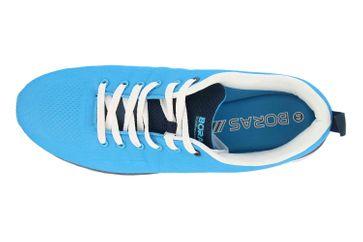 Boras SP Fashion Sports Sneaker Basic Sneaker in Übergrößen Blau 5203-1559 große Herrenschuhe – Bild 7