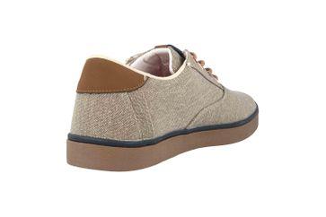 Boras SP Canvas Sneaker  Sneaker in Übergrößen Braun 5204-0090 große Herrenschuhe – Bild 3