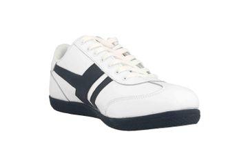 Boras SP Retro Sports Sneaker Socca Sneaker in Übergrößen Weiß 3541-0062 große Herrenschuhe – Bild 5