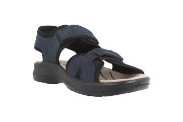 Jomos Sandalen in Übergrößen Blau 506609 12 861 große Herrenschuhe – Bild 5