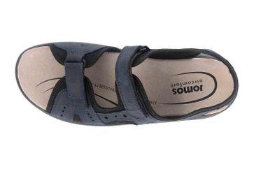 Jomos Sandalen in Übergrößen Blau 506609 12 861 große Herrenschuhe – Bild 7