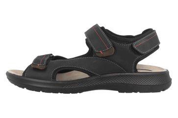 Jomos Sandalen in Übergrößen Schwarz 506612 12 0022 große Herrenschuhe – Bild 1