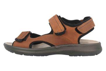 Jomos Sandalen in Übergrößen Braun 506612 731 3181 große Herrenschuhe – Bild 1