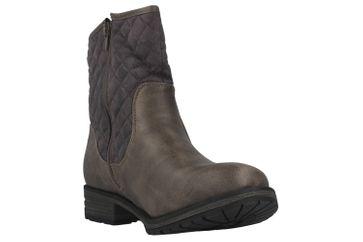 Boras Stiefel in Übergrößen Grau 3092-1417 große Damenschuhe – Bild 5