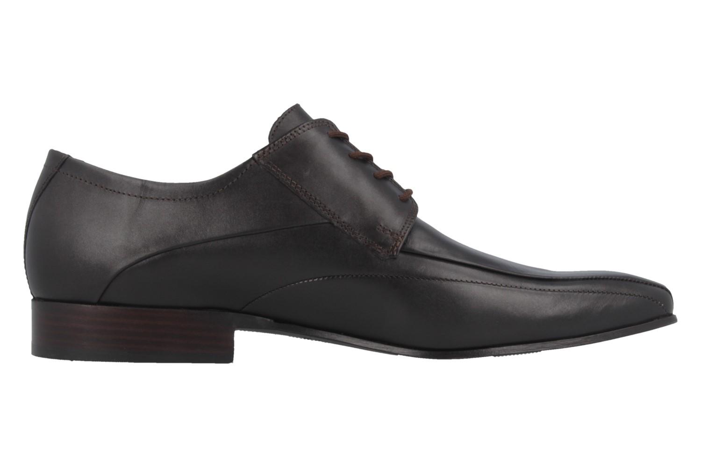 Fretz Men Business-Schuhe in Übergrößen Braun 1208.9729-38 große Herrenschuhe – Bild 3
