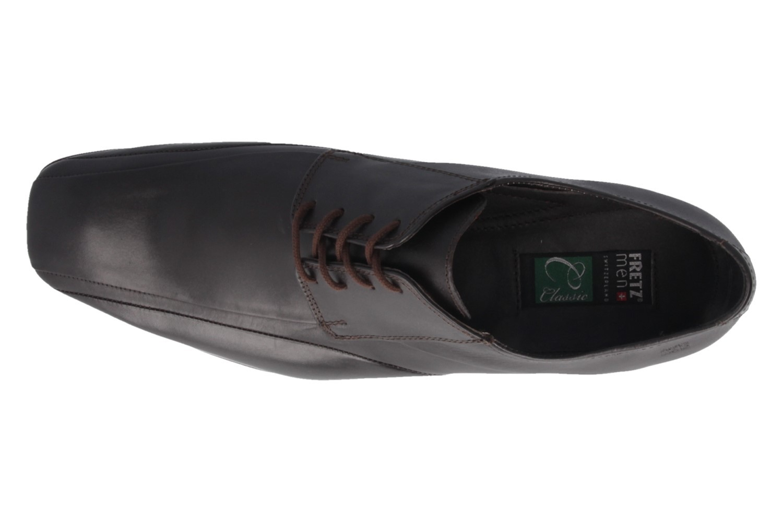 Fretz Men Business-Schuhe in Übergrößen Braun 1208.9729-38 große Herrenschuhe – Bild 4