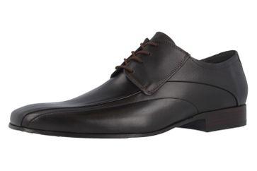 Fretz Men Business-Schuhe in Übergrößen Braun 1208.9729-38 große Herrenschuhe