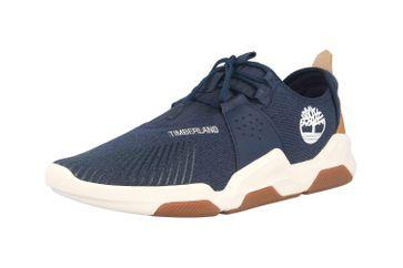 Timberland EARTH RALLY FLEXI KNIT OX NVY Sneaker in Übergrößen Blau TB0A2D5M0191 große Herrenschuhe – Bild 6