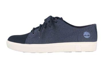 Timberland AMHERST FLEXIKNIT OX NVY Sneaker in Übergrößen Blau TB0A29N10191 große Herrenschuhe – Bild 1