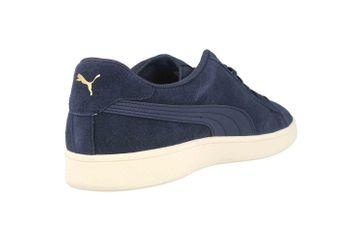 Puma Puma Smash v2 Sneaker in Übergrößen Blau 364989 24 große Herrenschuhe – Bild 3