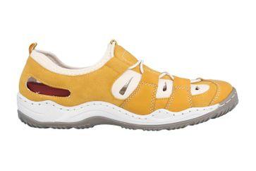 Rieker Sneaker in Übergrößen Gelb L0561-68 große Damenschuhe – Bild 4