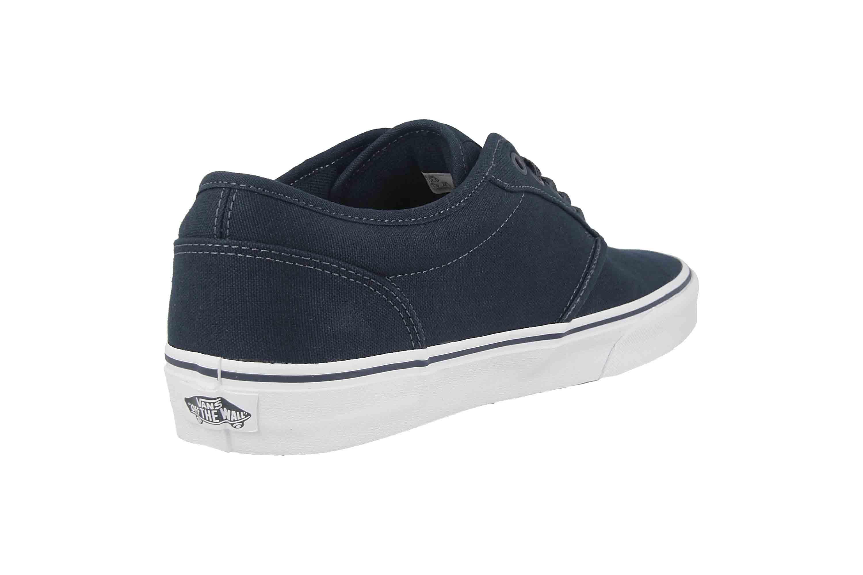 VANS MN Atwood (Canvas)NvyWht Sneaker in Übergrößen Blau VN000KC44K11 große Herrenschuhe