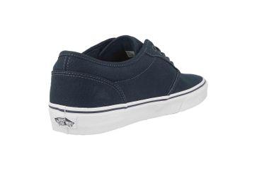 VANS MN Atwood (Canvas)Nvy/Wht Sneaker in Übergrößen Blau VN000KC44K11 große Herrenschuhe – Bild 3