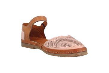 Manitu Sandaletten in Übergrößen Rosa 911006-42 große Damenschuhe – Bild 5