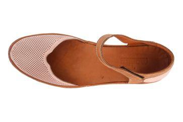 Manitu Sandaletten in Übergrößen Rosa 911006-42 große Damenschuhe – Bild 7