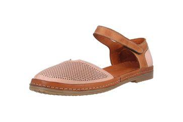 Manitu Sandaletten in Übergrößen Rosa 911006-42 große Damenschuhe – Bild 6