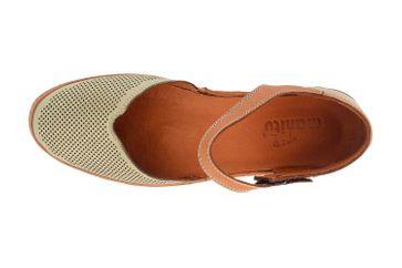 Manitu Sandaletten in Übergrößen Grün 911006-7 große Damenschuhe – Bild 7