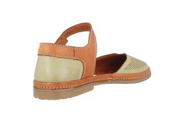 Manitu Sandaletten in Übergrößen Grün 911006-7 große Damenschuhe – Bild 3