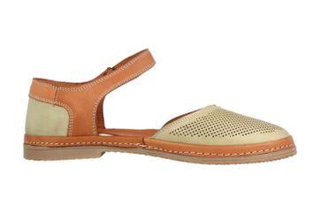 Manitu Sandaletten in Übergrößen Grün 911006-7 große Damenschuhe – Bild 4