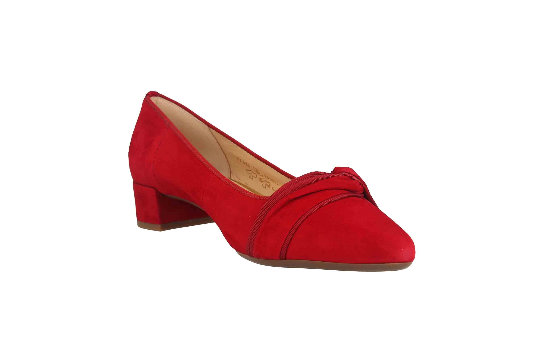 Gabor Fashion Pumps in Übergrößen Rot 51.430.15 große Damenschuhe