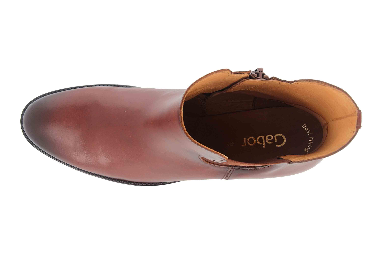 Gabor Fashion Stiefeletten in Übergrößen Braun 51.650.20 große Damenschuhe