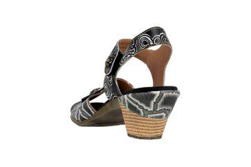Spring Footwear Sandalen in Übergrößen Schwarz Alluroe-B große Damenschuhe – Bild 2