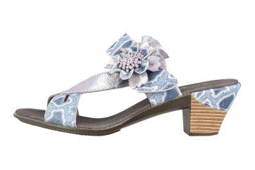 Spring Footwear Sandaletten in Übergrößen Schwarz Cassana-B große Damenschuhe – Bild 1