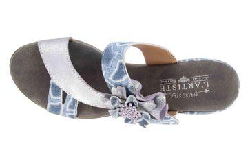 Spring Footwear Sandaletten in Übergrößen Blau Cassana-Blu große Damenschuhe – Bild 7