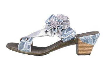 Spring Footwear Sandaletten in Übergrößen Blau Cassana-Blu große Damenschuhe – Bild 1