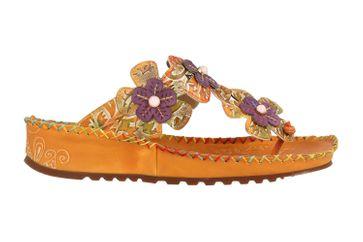 Spring Footwear Zehentrenner in Übergrößen Braun Crocus-Cam große Damenschuhe – Bild 4