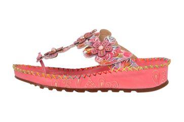 Spring Footwear Zehentrenner in Übergrößen Rosa Crocus-Pkm große Damenschuhe – Bild 1