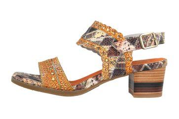 Spring Footwear Sandaletten in Übergrößen Mehrfarbig Exotic-Brm große Damenschuhe – Bild 1