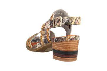 Spring Footwear Sandaletten in Übergrößen Mehrfarbig Exotic-Brm große Damenschuhe – Bild 2