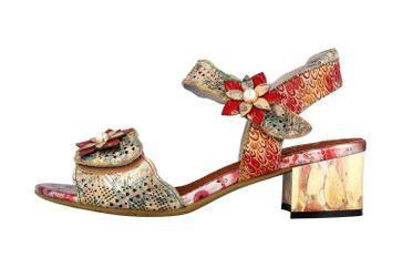 Spring Footwear Sandaletten in Übergrößen Mehrfarbig Freeform-Gldm große Damenschuhe – Bild 1