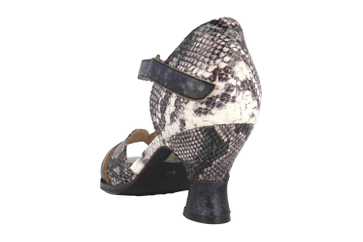 Spring Footwear Sandaletten in Übergrößen Mehrfarbig Glamour-Bm große Damenschuhe – Bild 2
