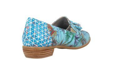 Spring Footwear Slipper in Übergrößen Mehrfarbig Klasik-Prdise-Tq große Damenschuhe – Bild 3