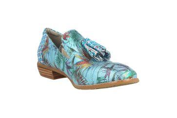 Spring Footwear Slipper in Übergrößen Mehrfarbig Klasik-Prdise-Tq große Damenschuhe – Bild 5
