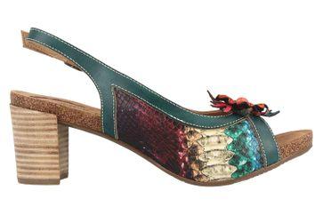 Spring Footwear Sandaletten in Übergrößen Mehrfarbig Kristieli-Grm große Damenschuhe – Bild 4
