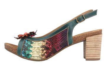 Spring Footwear Sandaletten in Übergrößen Mehrfarbig Kristieli-Grm große Damenschuhe – Bild 1