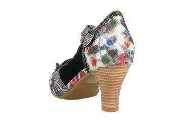 Spring Footwear Sandaletten in Übergrößen Mehrfarbig Pafae-Bm große Damenschuhe – Bild 2