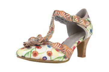 Spring Footwear Sandaletten in Übergrößen Mehrfarbig Pafae-Grym große Damenschuhe – Bild 6