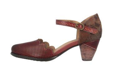 Spring Footwear Sandaletten in Übergrößen Bordeaux Parchelle-Bxm große Damenschuhe – Bild 1