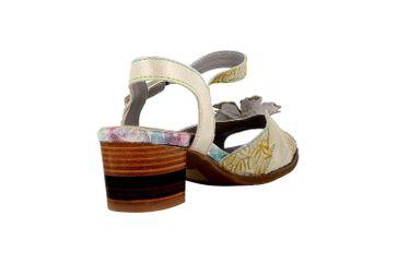 Spring Footwear Sandaletten in Übergrößen Grau Petaluma-Grym große Damenschuhe – Bild 3