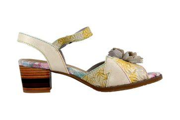 Spring Footwear Sandaletten in Übergrößen Grau Petaluma-Grym große Damenschuhe – Bild 4