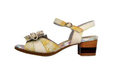Spring Footwear Sandaletten in Übergrößen Grau Petaluma-Grym große Damenschuhe – Bild 1