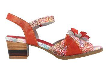 Spring Footwear Sandaletten in Übergrößen Rot Petaluma-Rdm große Damenschuhe – Bild 4
