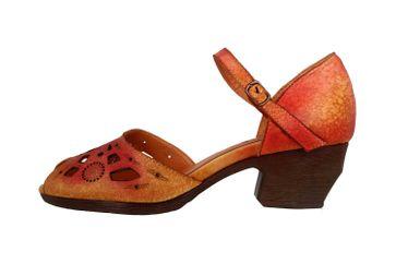 Spring Footwear Sandalen in Übergrößen Rot Posadas-Rdm große Damenschuhe – Bild 1