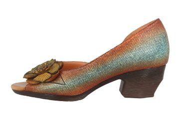 Spring Footwear Sandaletten in Übergrößen Mehrfarbig Rosalind-Blum große Damenschuhe – Bild 1