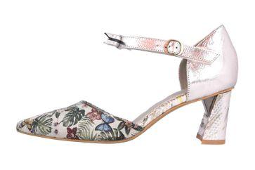 Spring Footwear Sandaletten in Übergrößen Silber Sensational-Slm große Damenschuhe – Bild 1